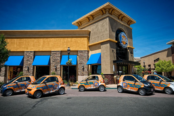Dave and Buster's event promotions, vehicle wraps