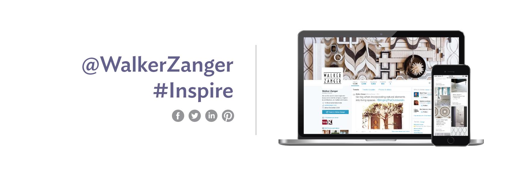 Walker Zanger social media