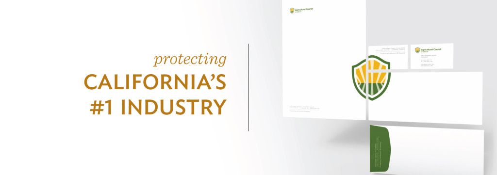 Agricultural Council of California corporate identity, branding, logo design