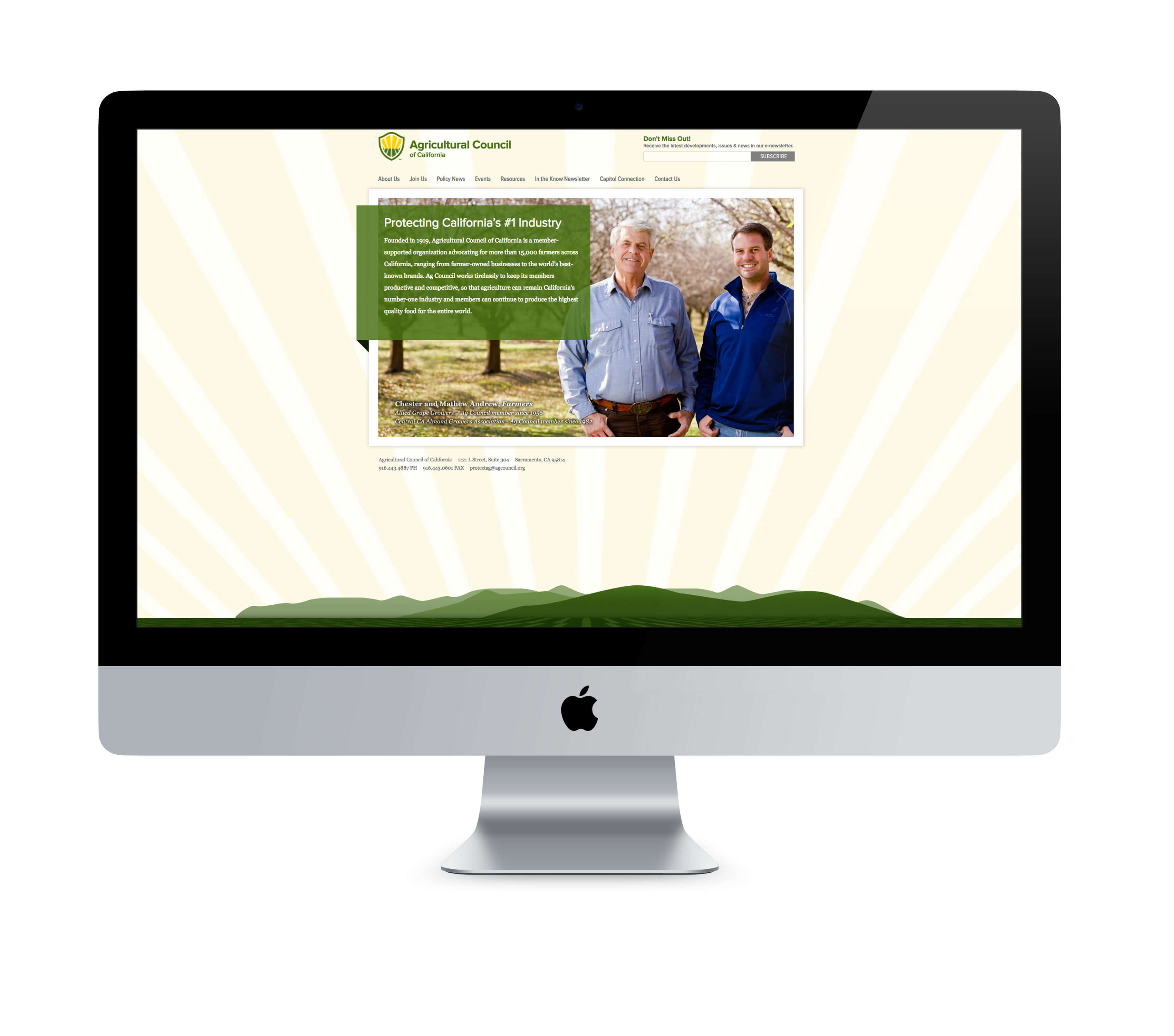 Agricultural Council of California website