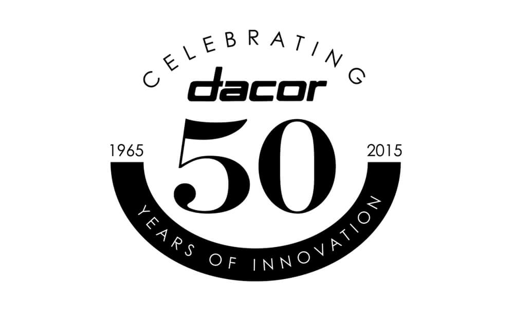 Dacor's 50th anniversary video production, video distribution and social media