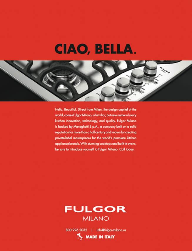 Fulgor Milano Print Advertising Campaign