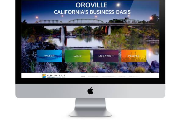 Oroville Economic Alliance website