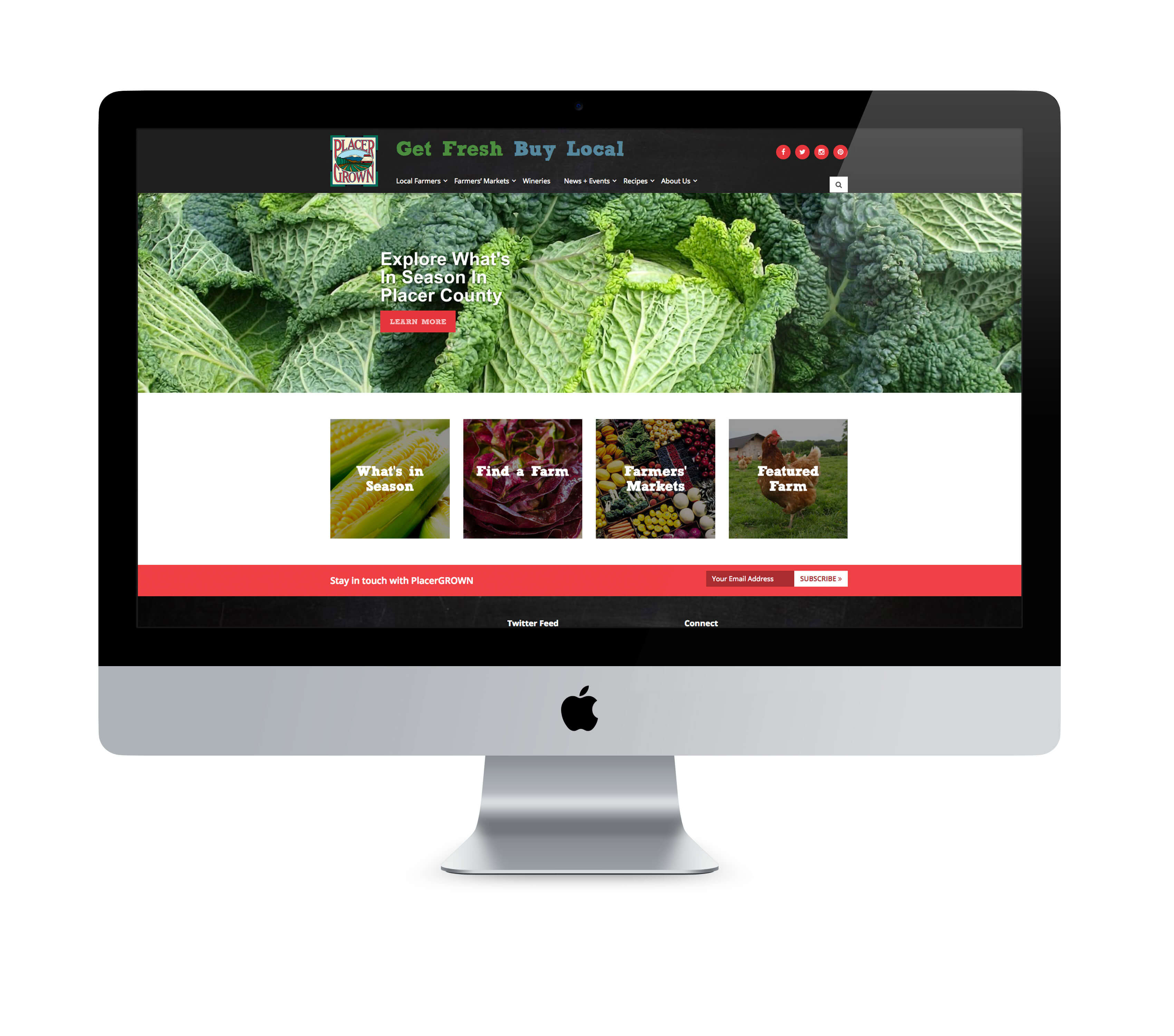 PlacerGROWN website