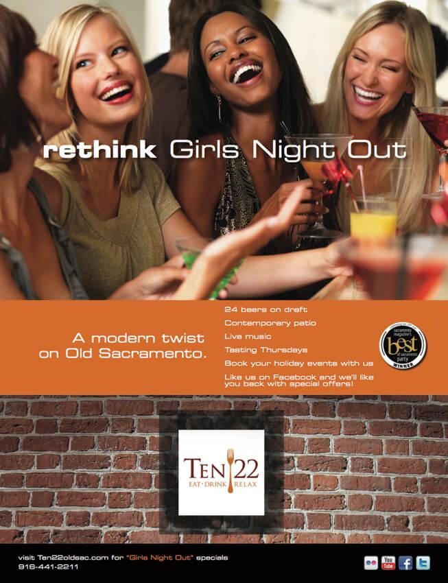 Ten22 Print Advertising Campaign