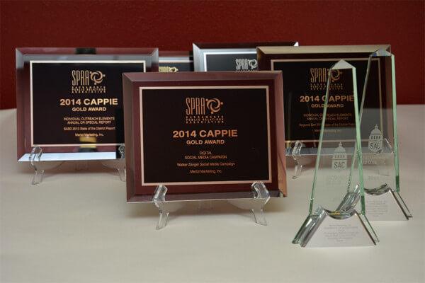 Sacramento Public Relations Association Awards 2014