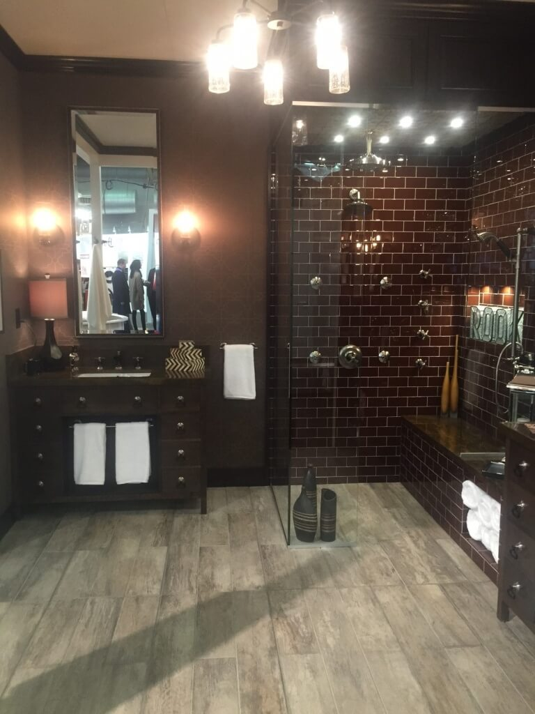 Brizo Booth Display at Architectural Digest Home Design Show 2015
