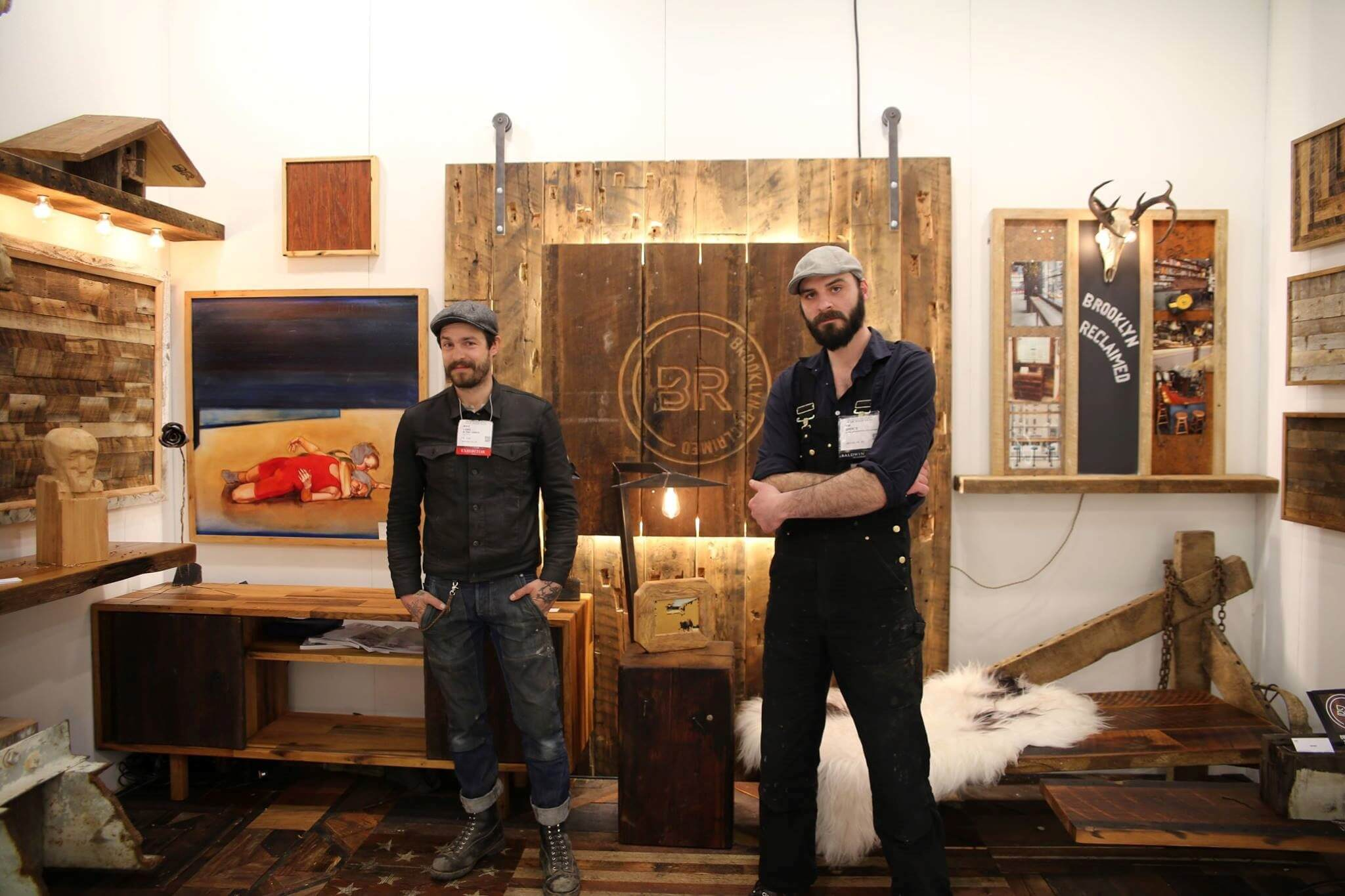 Brooklyn Reclaimed ADHDS booth