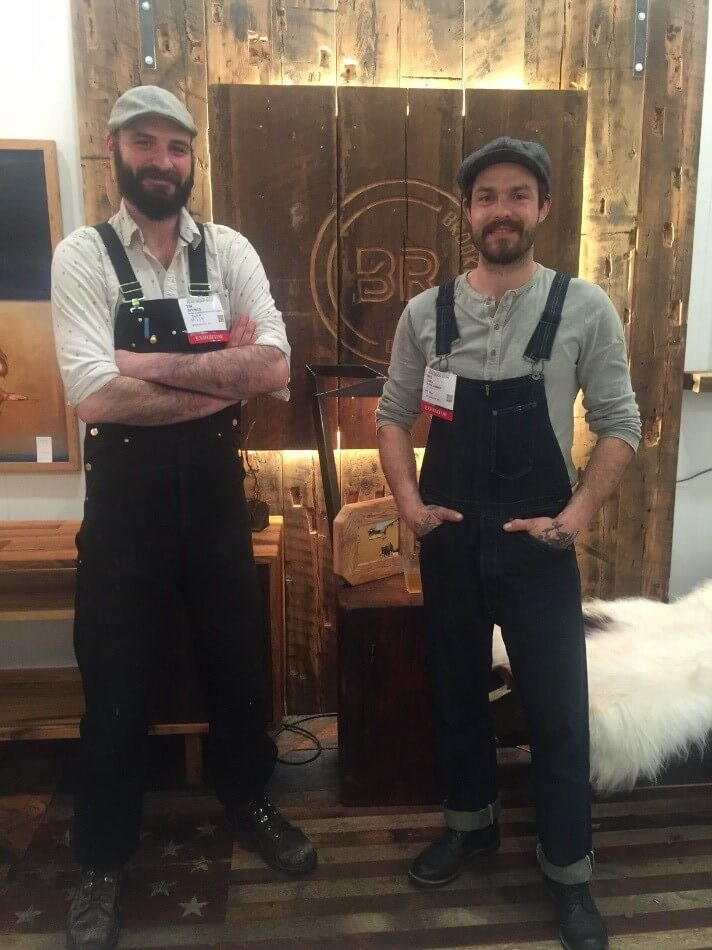Brooklyn Reclaimed Co-Founders Tim Spence and Mike McLang