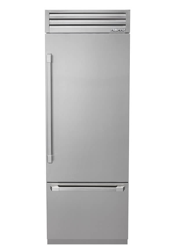 Dacor Discovery Fully Integrated Refrigerator closed