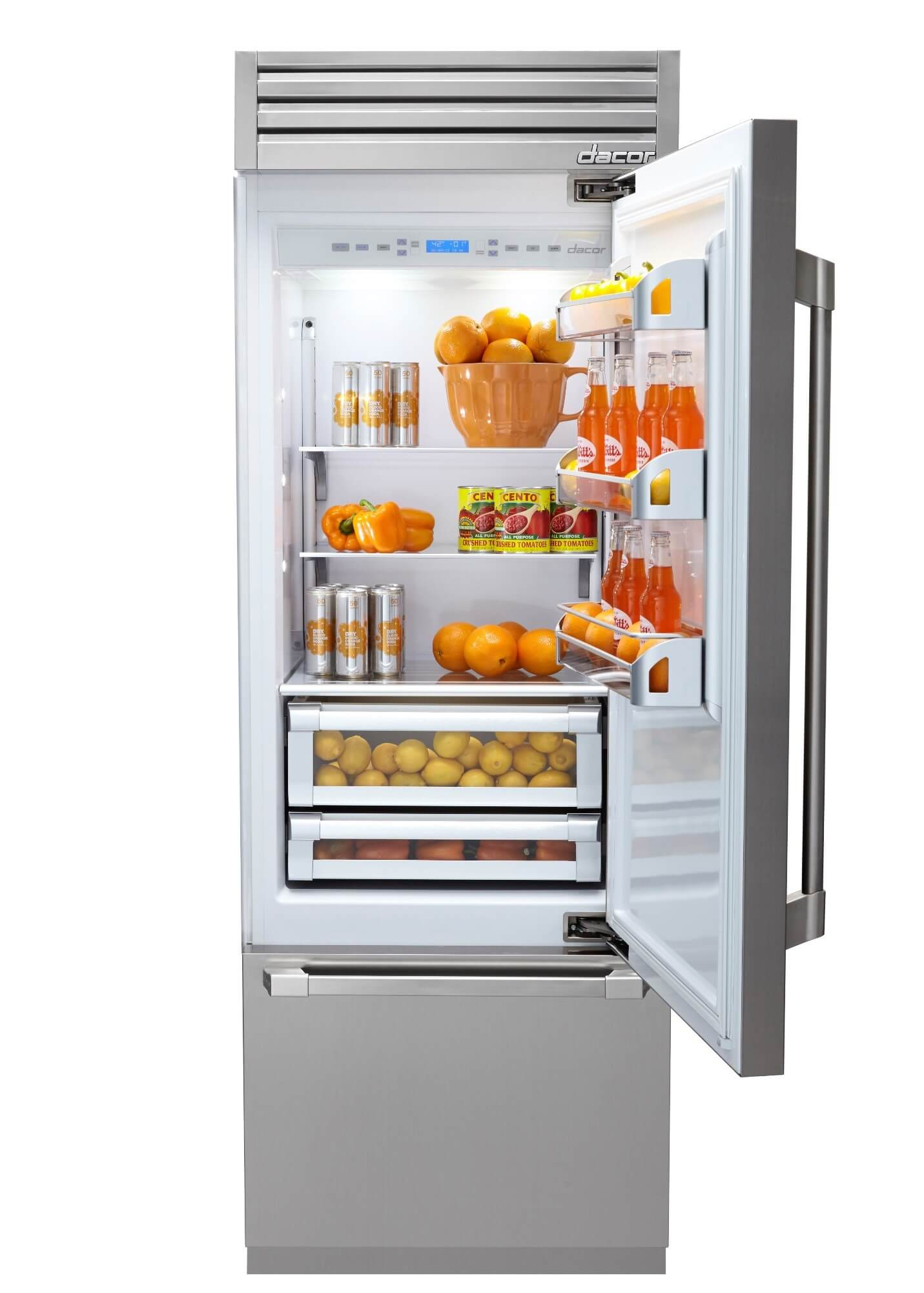 Available in May, the Dacor Discovery® 36- and 30-inch is an ultra-premium Fully Integrated Refrigerator with a host of features.