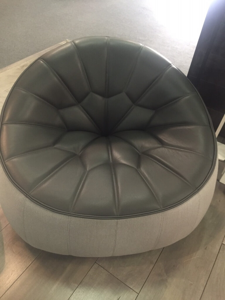 A stylish, contemporary ottoman from Ligne Roset