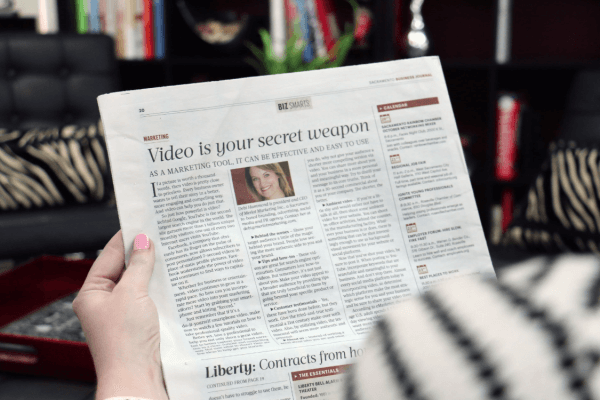 Video is your secret weapon Sacramento Business Journal article
