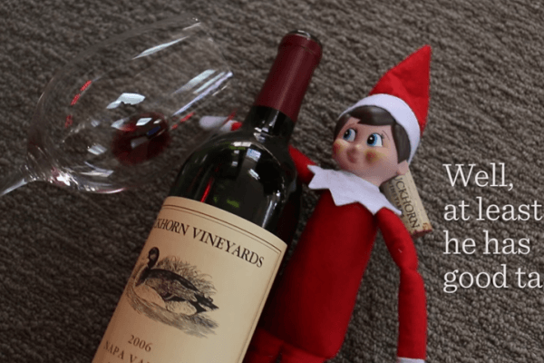 Elf on the shelf campaign featuring mischievous elf video