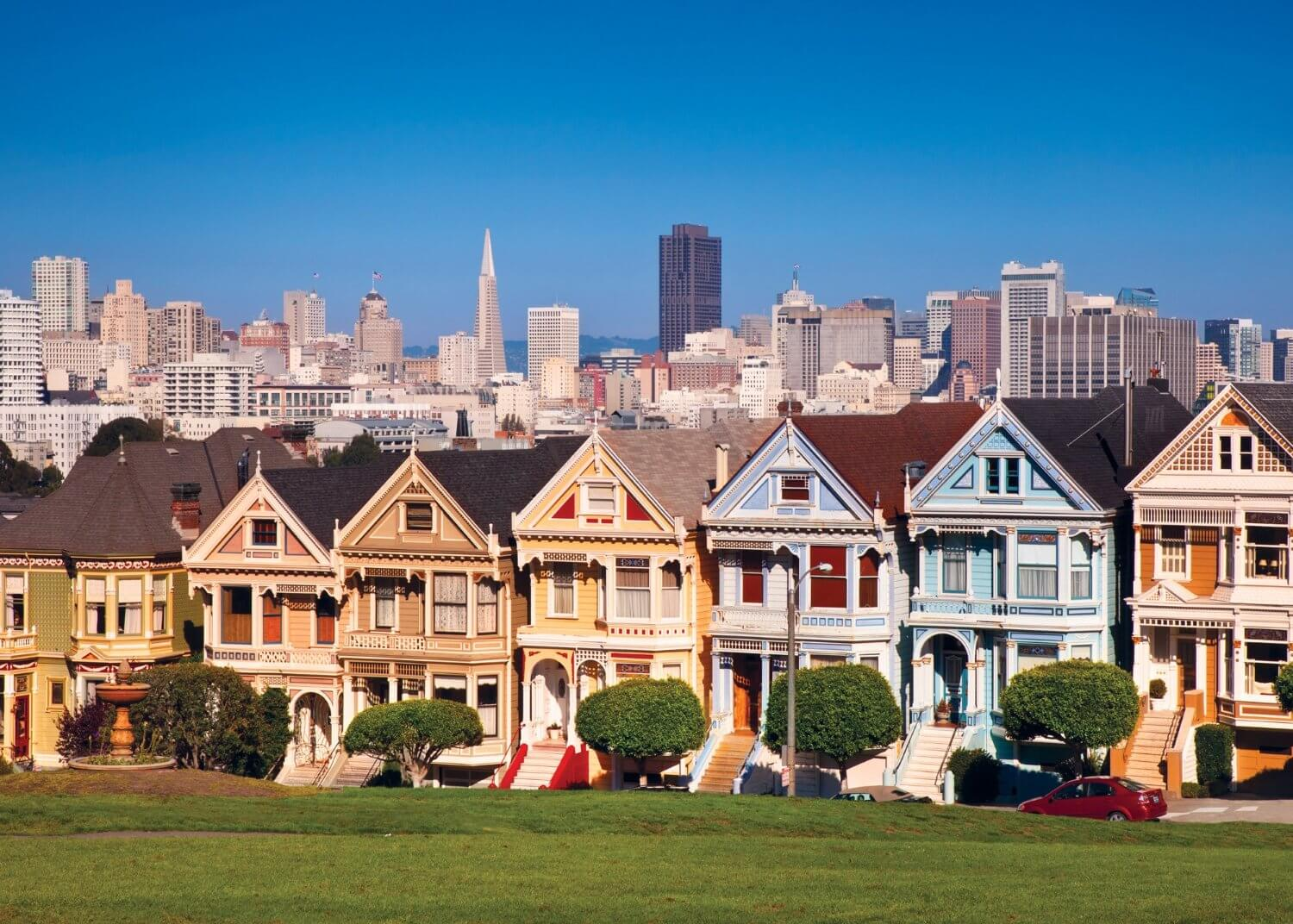 San Francisco 39 S Iconic Painted Lady Gets A Facelift