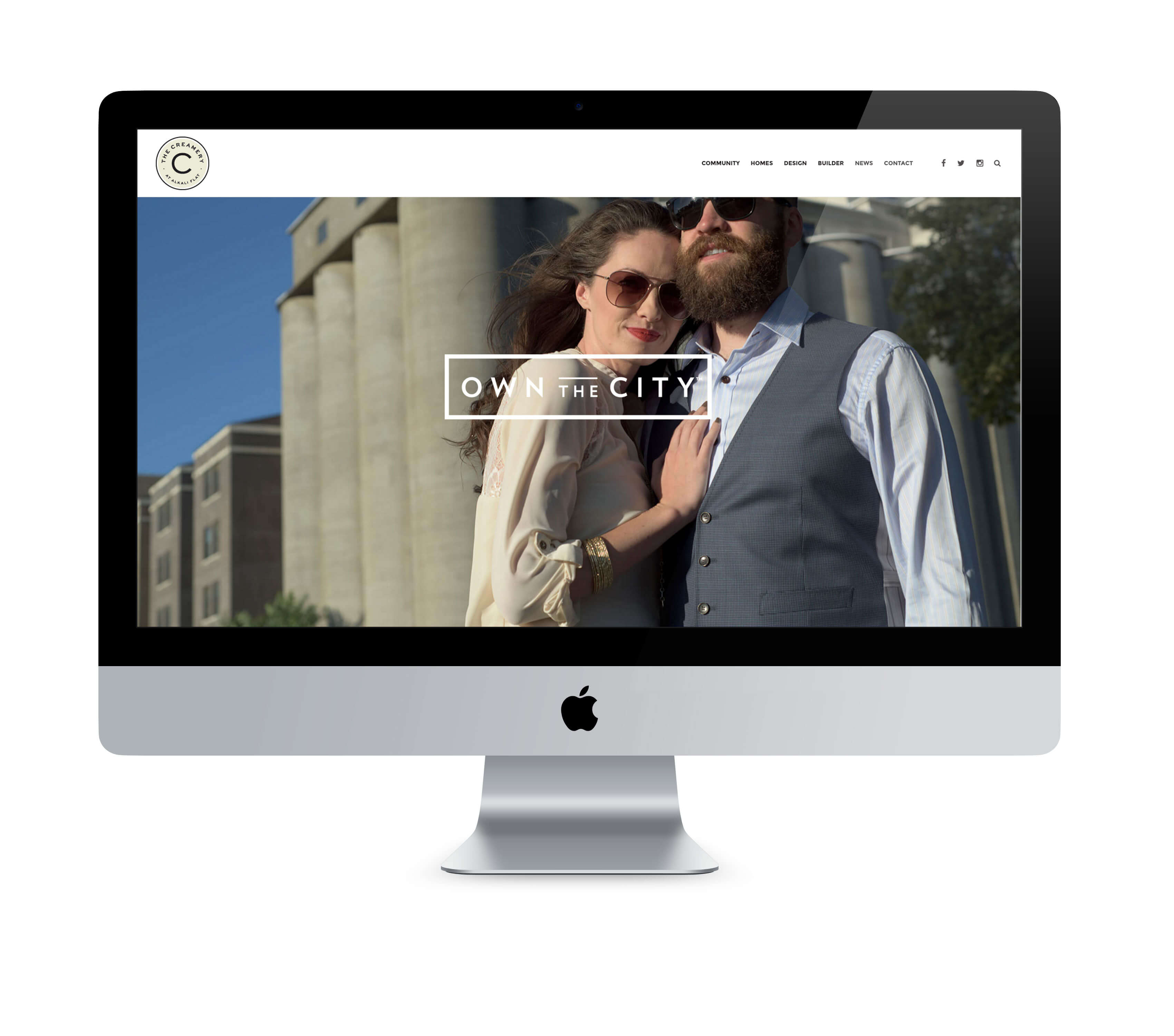 The Creamery Website