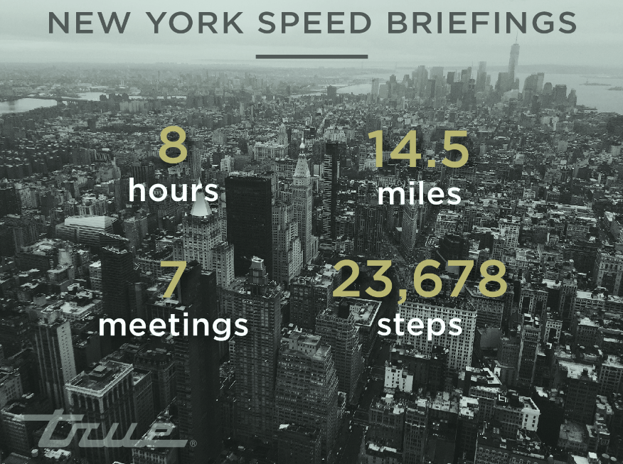 New York Speed Briefings
