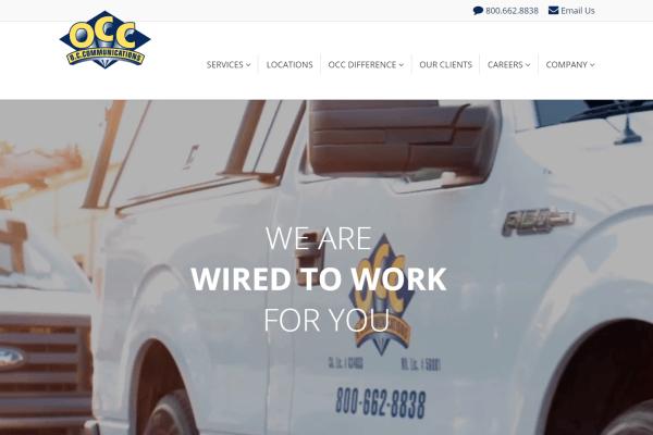 OC Communications Website