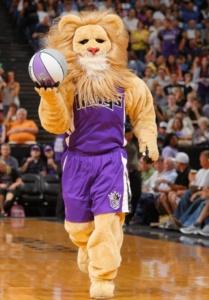 Slamson, the Sacramento Kings mascot