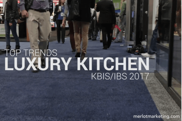 Top trends in luxury kitchens at kbis/ibs 2017