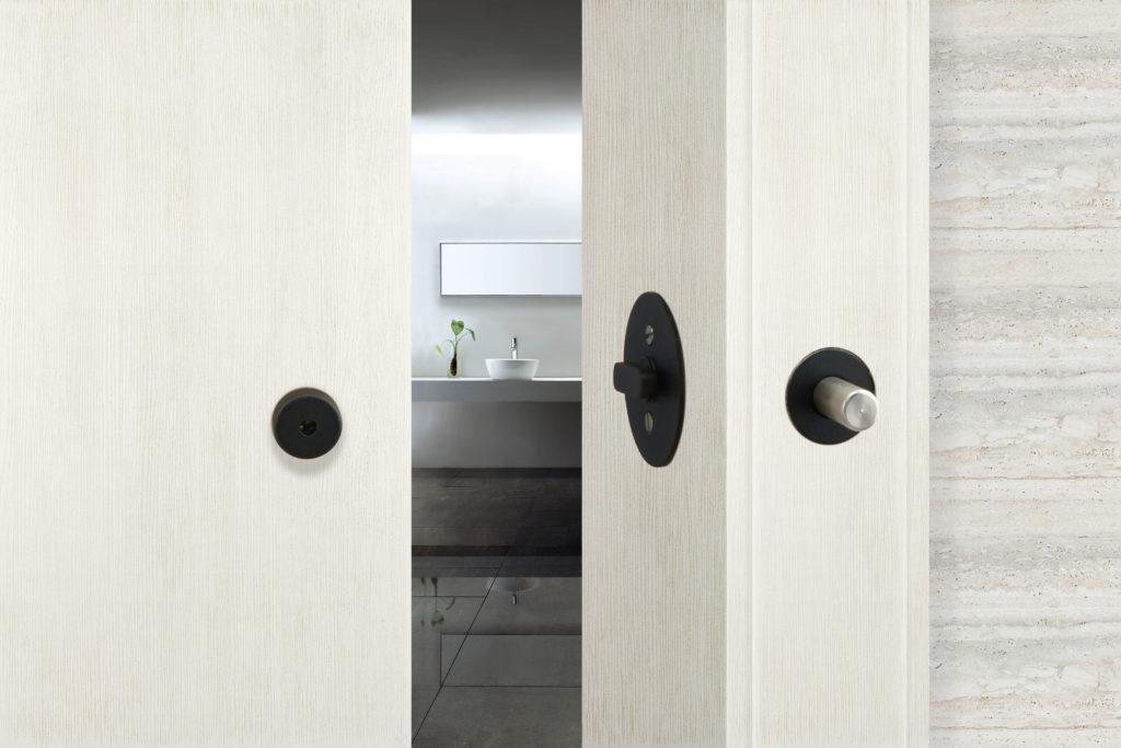 Inox Barn Door Lock